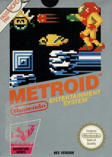 Original Metroid Box Art NES Nintendo