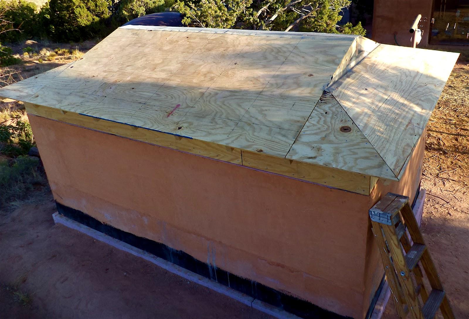 Metal Roof: Metal Roof Over Rigid Insulation