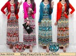 62604 Maxi Spandex + Cardi SOLD OUT