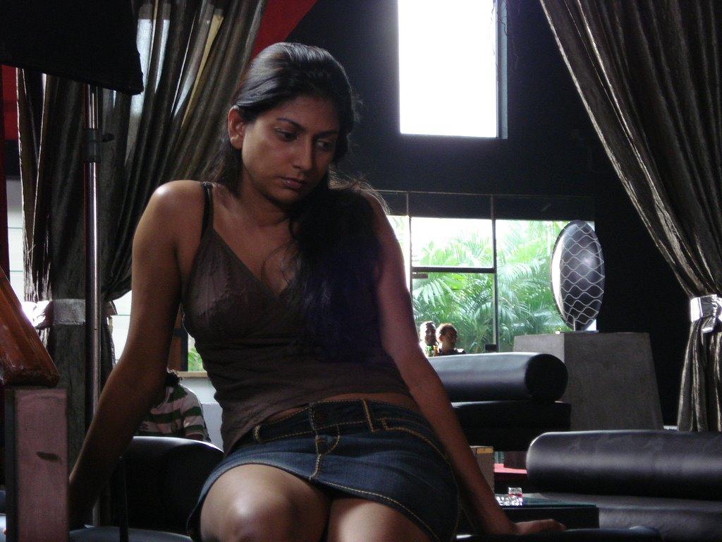 Sri Lankan actress Nimmi Harasgama checks into Good Karma
