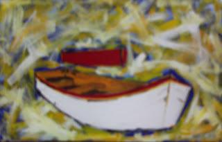 Clameli - Duas Canoas - Acrílico s/ tela