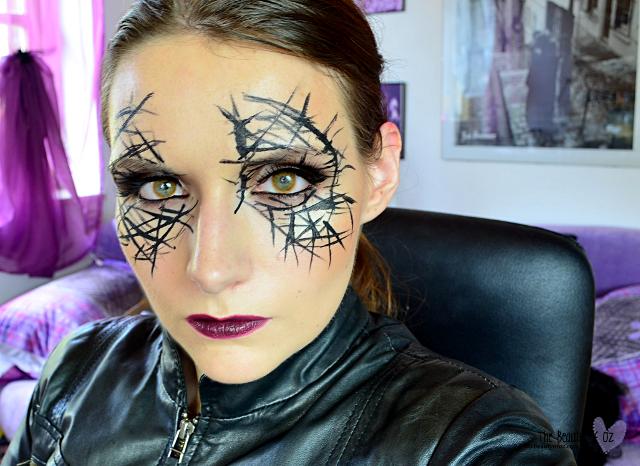 Halloween Look - Make Up - Schnell und einfach