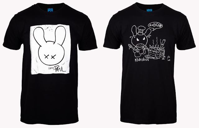 Kidrobot X: 10 Years of Art + Design T-Shirt Collection - Paul Budnitz & Frank Kozik