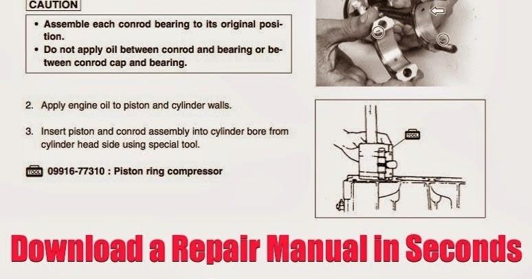 asian repair manual 2001 to 2004