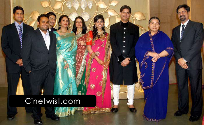 Cricketer Srikanth's Son Aniruddha Wedding Reception Photos