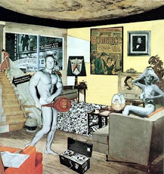 POP ART Richard Hamilton's collage Just What Is It That Makes Today's Homes So Different, So Appeal