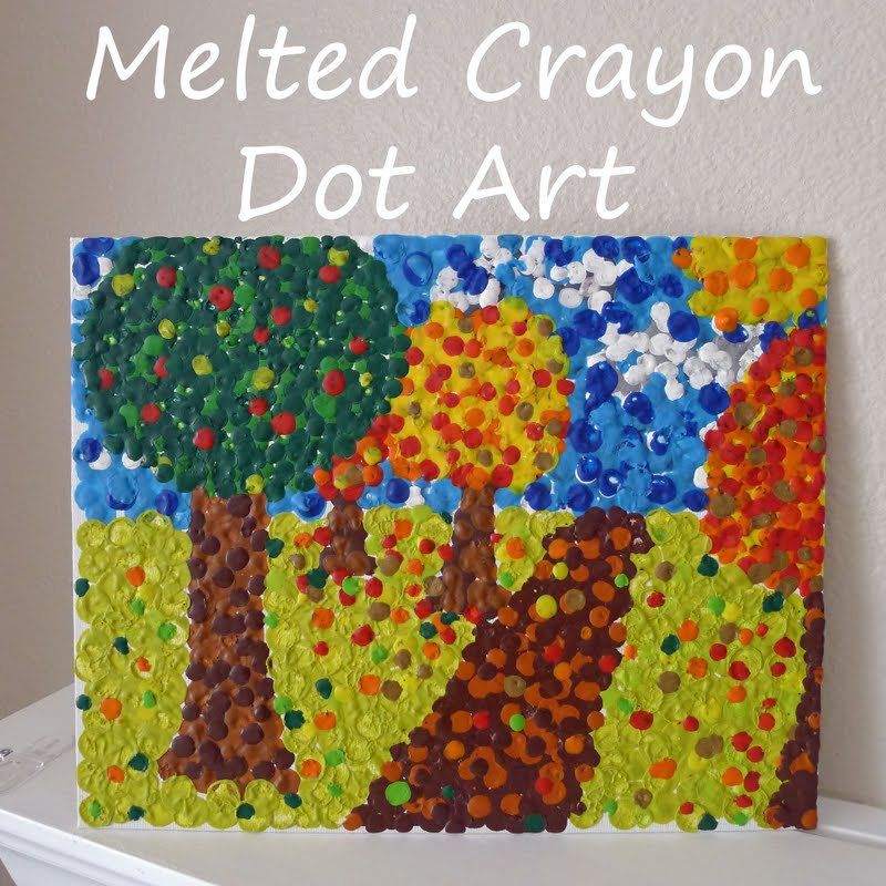 Crayon art on pinterest for How to make a melted crayon art canvas