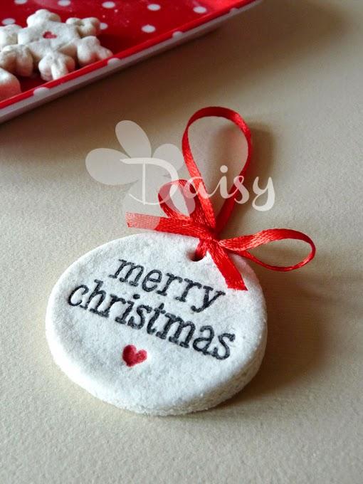 spesso Daisy Handmade: Un progetto al giorno 22/24: decorazioni natalizie  AD01