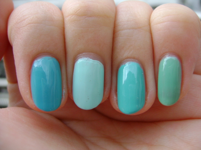 Smart and Sarcastic With Dashes of Insanity: Turquoise Green Polish ...