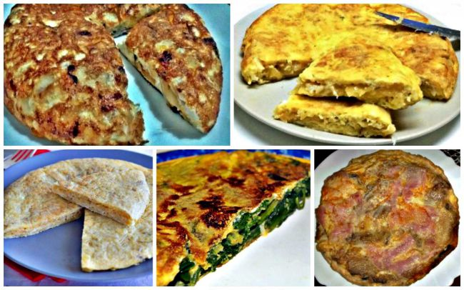 Cinco Recetas de Tortillas Caseras
