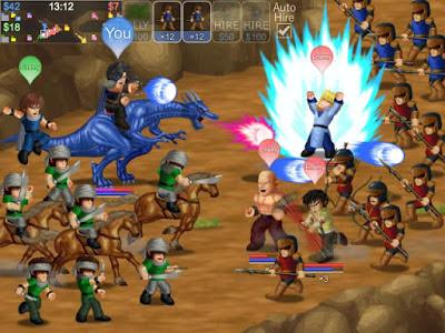Hero Fighter X V1.08 MOD Apk (Gems+Energy+Heroes Unlocked)-screenshot-2