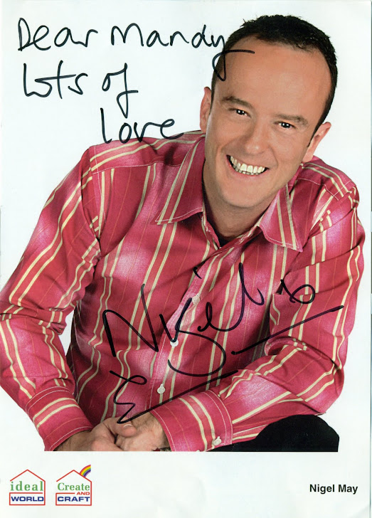 My signed pic from nigel x