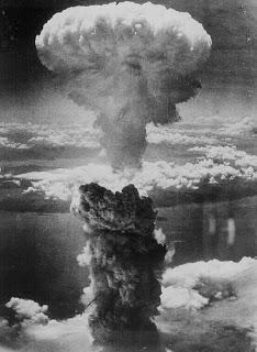 القنبلة الذرية التي ضربت على هورشيما وناغازاكي