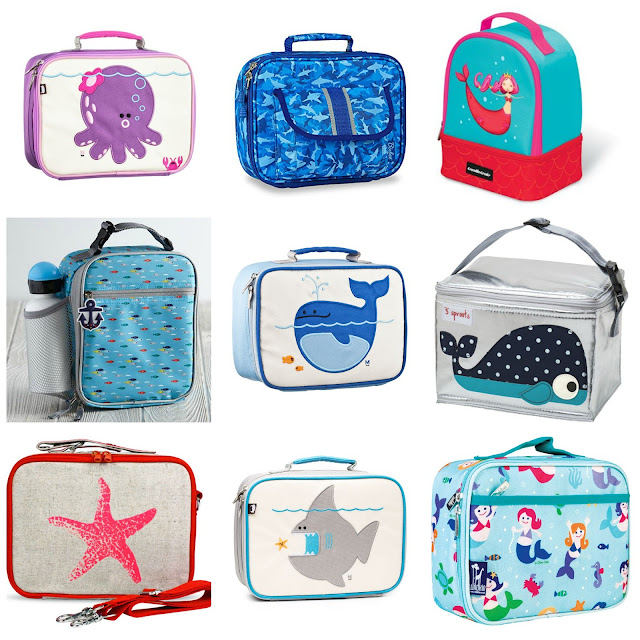 Nautical by Nature | Back to School: Nautical backpacks and lunch boxes