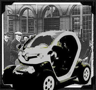 La Renault Twizy a 100 ans !