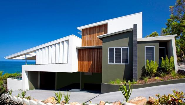 Desain Rumah Berpemandangan Terbaik di Pinggir Pantai