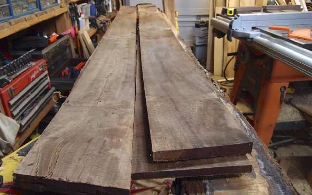 Rough Walnut: Which to Use