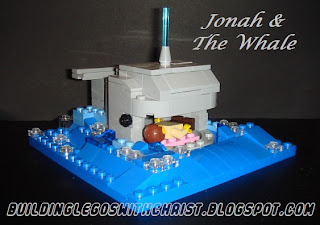Biblical LEGO Creations, Christian LEGO Creations, Jonah and the whale