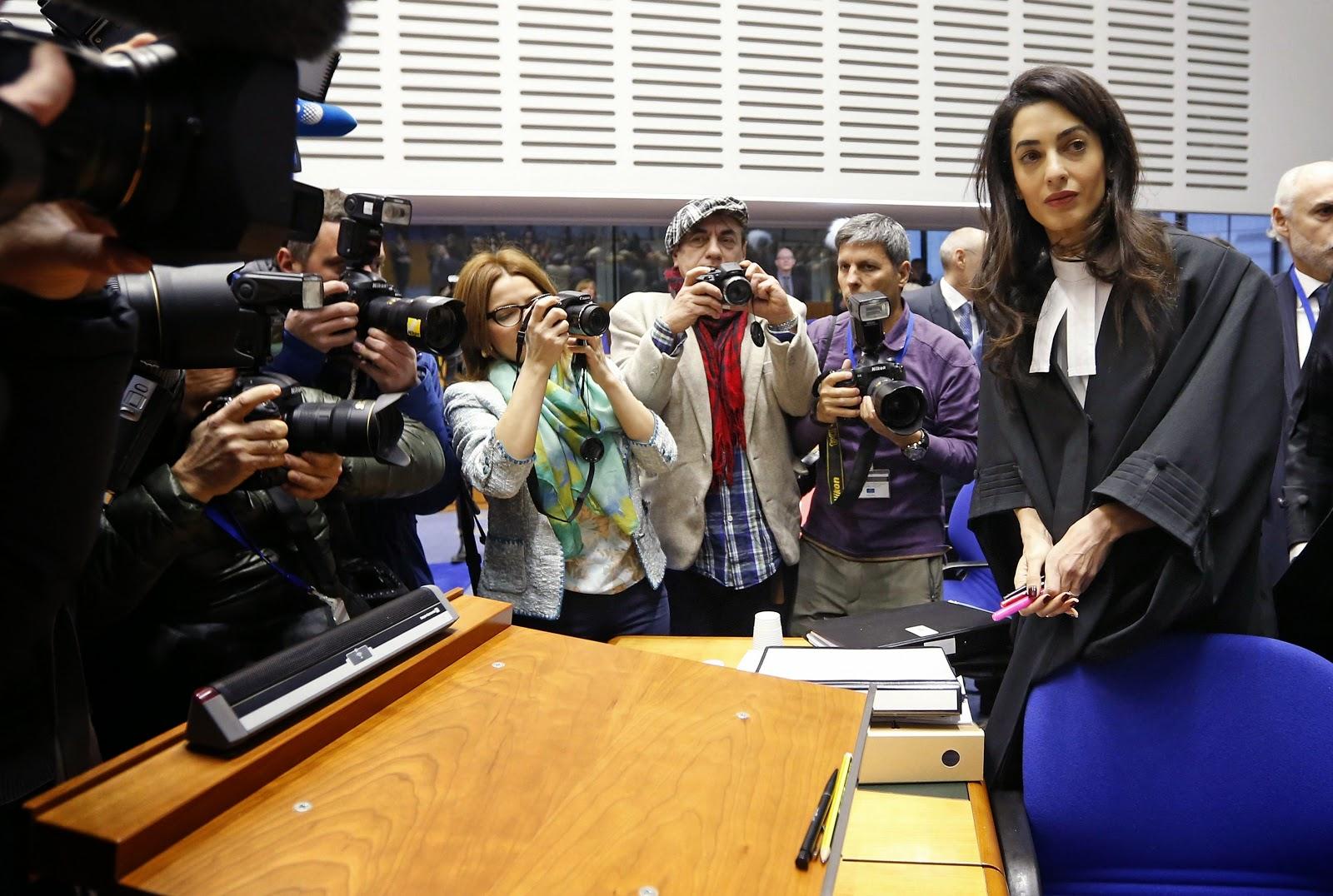 H Αμάλ Κλούνεϊ κατά της Τουρκίας για τη Γενοκτονία στο Ευρωπαϊκό Δικαστήριο Ανθρωπίνων Δικαιωμάτων