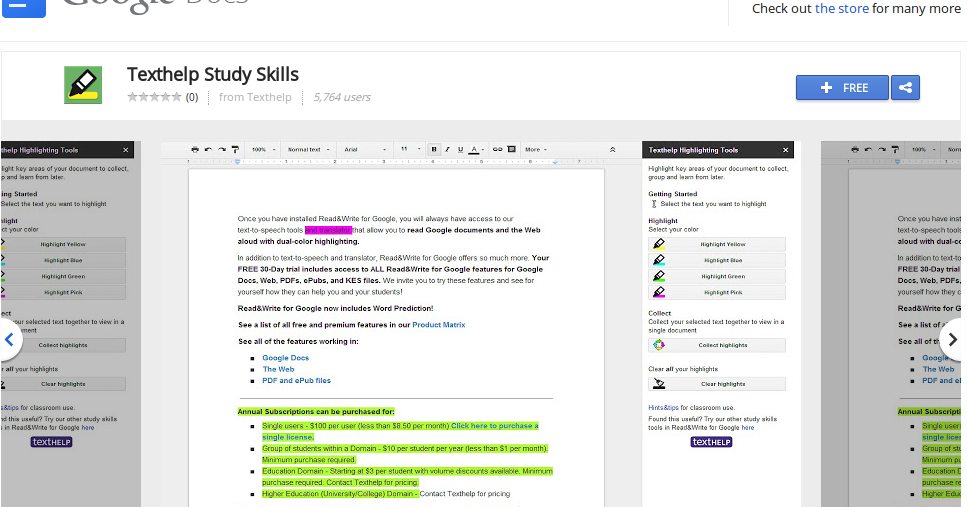 Technology for education google doc add ons highlighting for Google docs add highlight