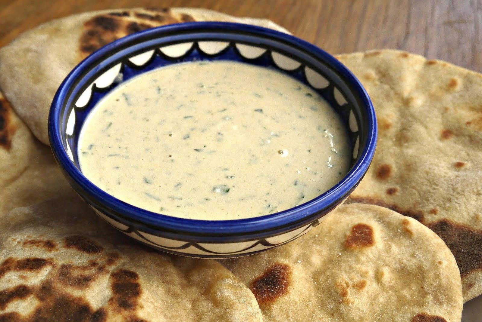 Bint rhoda 39 s kitchen basic tahini lemon sauce with fish for Lemon cream sauce for fish