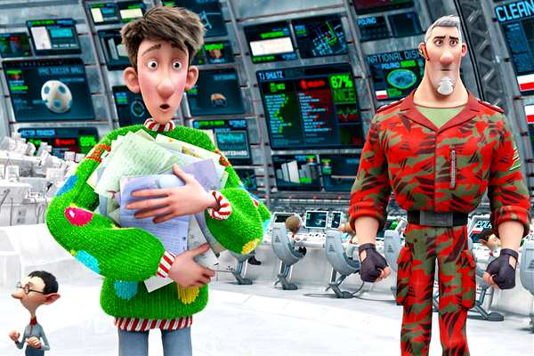 Movie Review: Arthur Christmas (3D)   Pfangirl Through the Looking ...