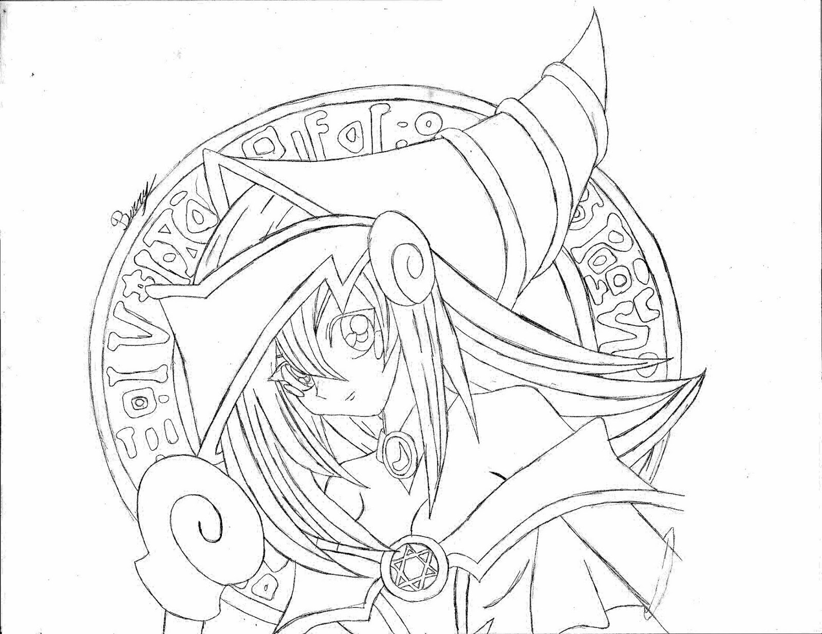 free here is fun page for kids to color drawn by my favorite strawberry with yugioh coloring pages to print