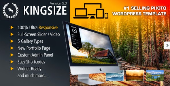 King Size WordPress Theme v5.0.3