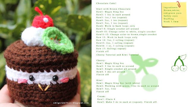 Amigurumi Food : Amigurumi Food: December 2012