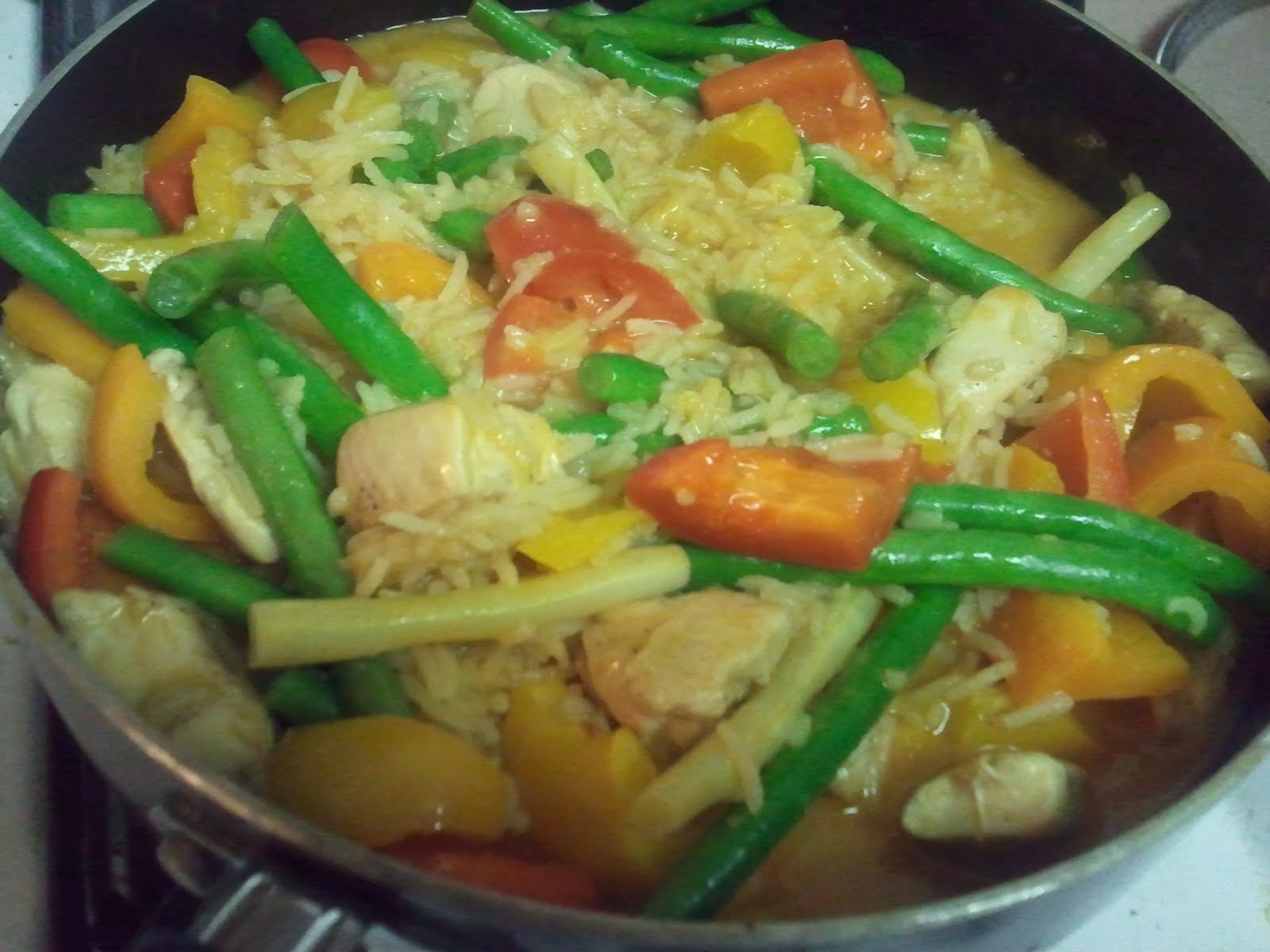 Consumed Around the Beltway: One Pot Wednesday: Coconut ...