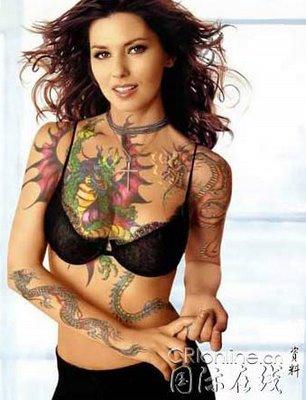 female tattoo pics. sexy tattooed women. tattooed