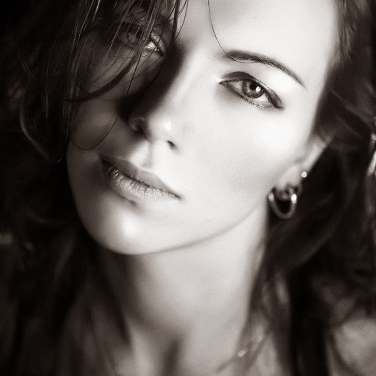 Pintura moderna y fotograf a art stica rostros femeninos for Imagenes bonitas en blanco y negro