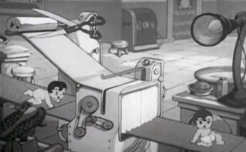 Betty Boop, On with the New, 1938