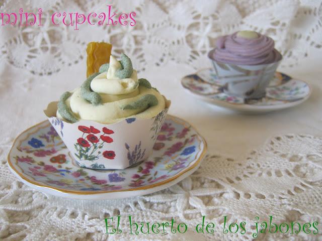 Cupcakes jabonosos variados
