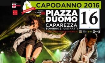 Concerto Capodanno 2016 Milano Piazza Duomo