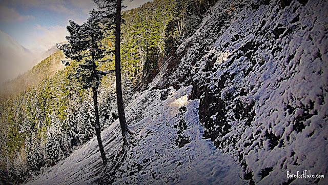 pyramid trail landslide