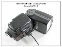 Fiber Optic Bundle Holding Clamp