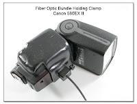 Fiber Optic Bundle Holding Clamp