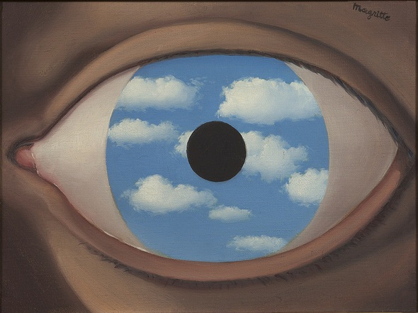 Magritte eye gallery - Magritte specchio falso ...
