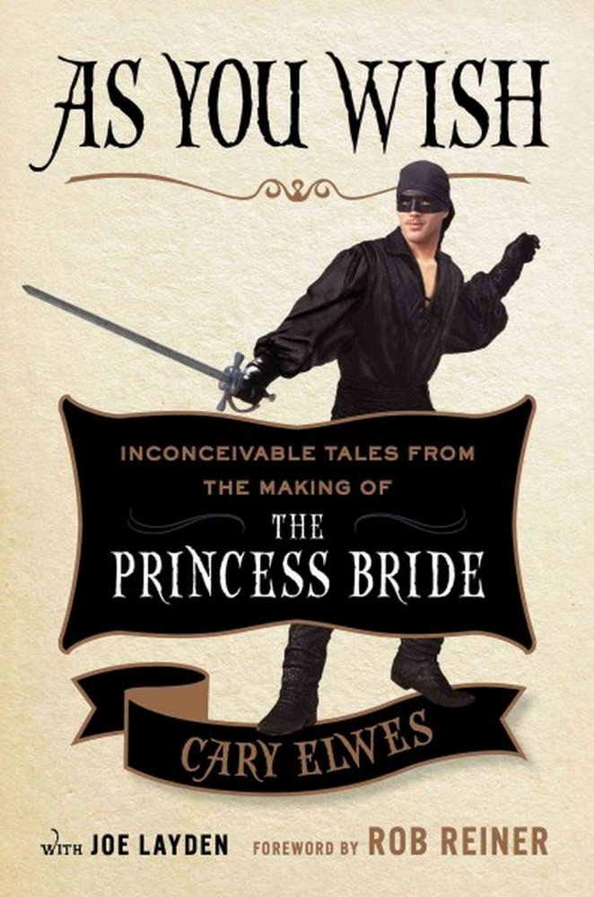 All about the making of the Princess Bride movie by the guy who plays Wesley. So funny and charming!