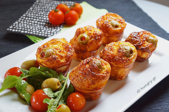 Savory Cheddar Cheese Muffins