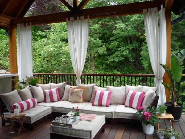 Organized Design: Outdoor Curtains