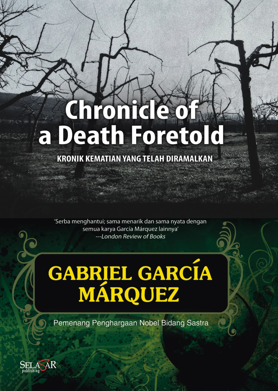 chronicles of a death foretold The central action which shapes and informs every page of chronicle of a death foretold is the murder of in a chronicle abounding with ironies from the initial.