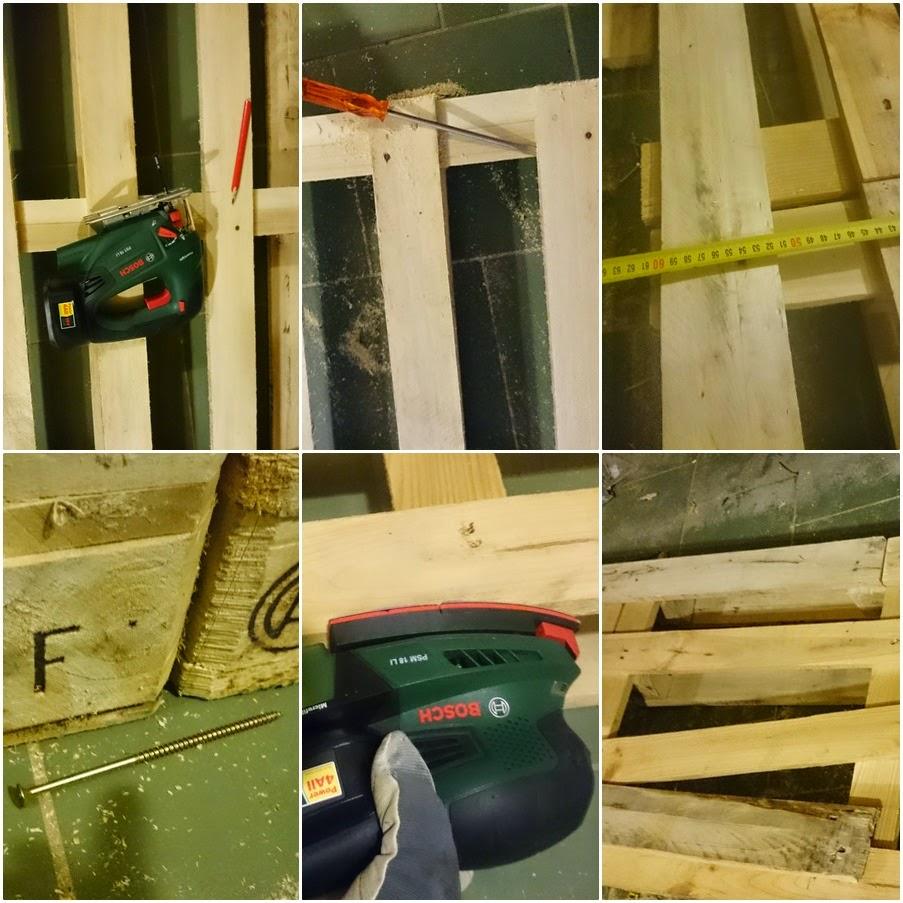 meble z palet,upcycled wood, jak zrobić biurko z palet,bosch,blog DIY zrób to sam krok po kroku biurko z palet,