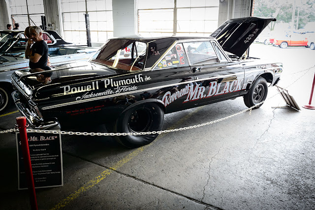 "George and Carol Edwards' 1964 Plymouth Belvedere ""The Reverend Mr. Black"" 426 Stage III Max Wedge"