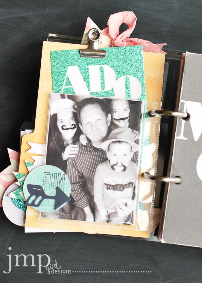 JoAnn Desktop Calendar @jamiepate #heidiswapp #HeidiSwappatJoAnn