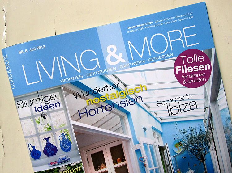 Zeitschrift Living And More living more renna deluxe