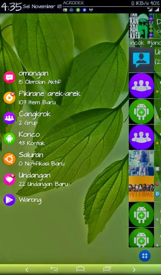 BBM Mod Tema Android Messenger V3 Base 2.5.0.36 Android