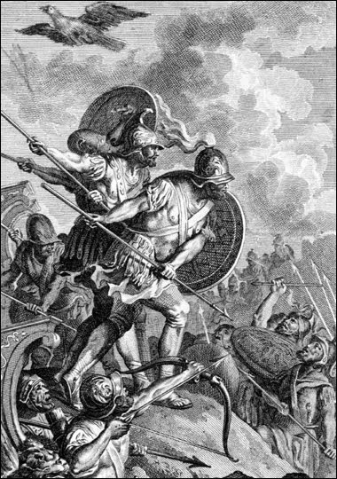 a description of the greeks as portrayed by homer throughout the odyssey Odyssey seems more akin to homer's greece than to odysseus's, and homer substitutes the pantheon of deities of his own day for the related but different gods.