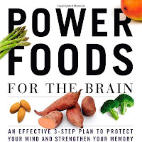 "Book cover of ""Power Foods for the Brain"""